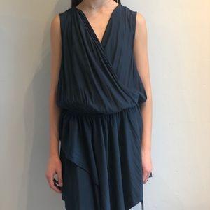 Lanvin Teal Dress
